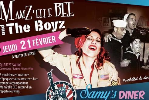 MamZ'Elle Bee & The Boyz au Samy's Diner Albi Jeudi 21 février 2019 à partir de 19h30