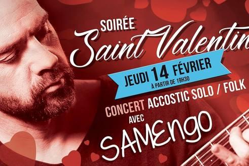 Soiree Saint Valentin au Samy's Diner Albi Jeudi 14 février 2019 a partir de 19h