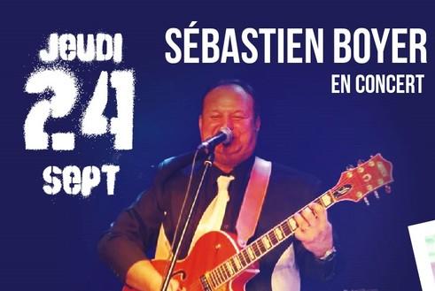 24/09 : Sebastien boyer en live