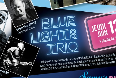 13 Juin : Blue Light Trio
