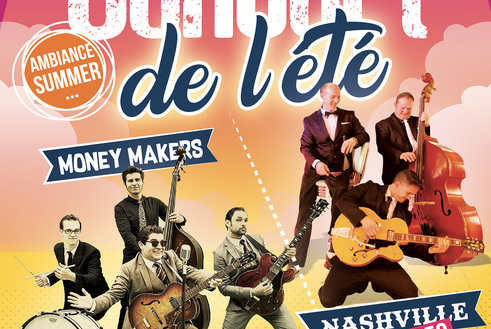 Concert de l'été ( Nashville & the money makers )