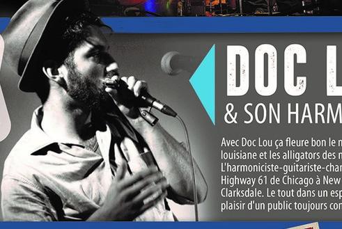 Jeudi 14/11 : Doc lou & son harmonica