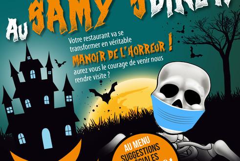 HALLOWEEN au Samy's Manoir de l'horreur