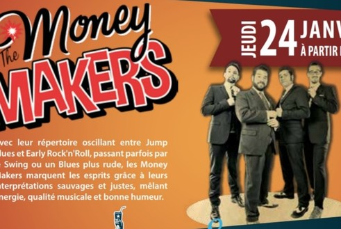 The Money Makers au Samy's Diner Albi
