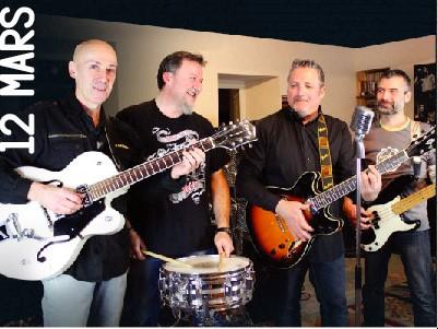 Jeudi 12 Mars :Rockingbillies en concert