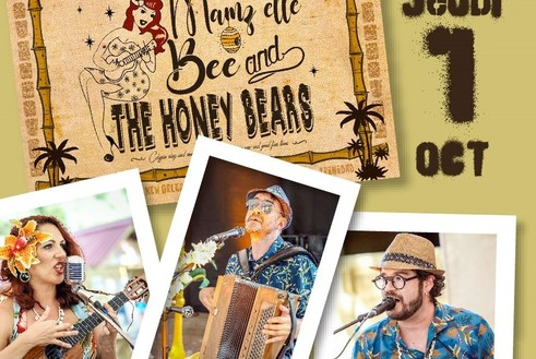 01/10 : Mamz'elle BEE and the Honey BEARS