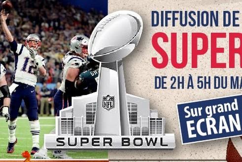 Diffusion de la finale du Superbowl