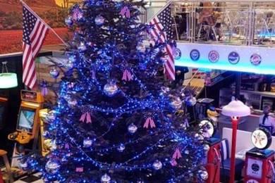 Soirée de Noël 2018 au Samy's Diner Albi