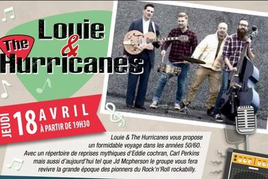 Louie & The Hurricanes le Jeudi 18 avril 2019 au Samy's Diner Albi