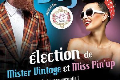 Miss Pin-up et Mister Vintage 2018 au Samy's Diner a Albi