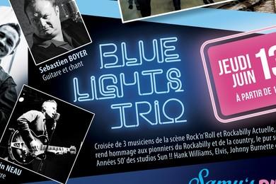 13 Juin : Blue Light Trio
