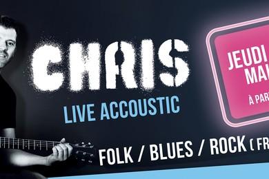 23 Mai : Chris en live