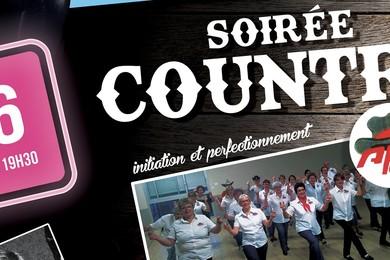 6 Juin : Soirée Country