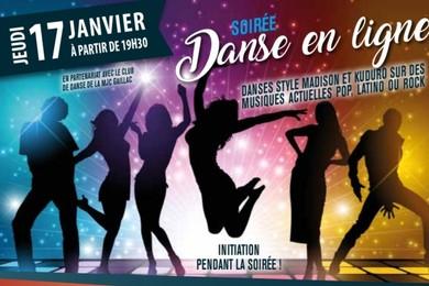 Soirée Danse en ligne au Samy's Diner Albi