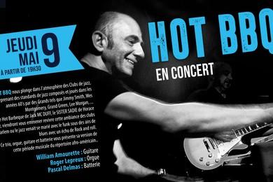 09 Mai : Concert des HOT BBQ